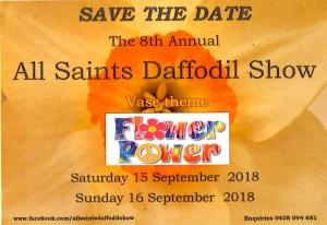 daffodil flyer 2018